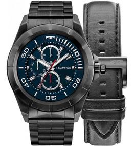 Relógio Technos Masculino Smartwatch Srac/4p 2 Pulseiras