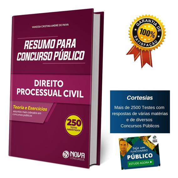 Apostila Resumo Concurso Público - Direito Processual Civil