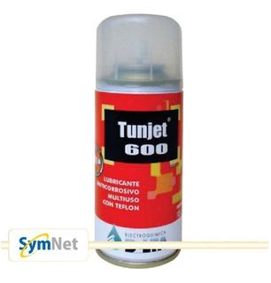 Lubricante Anticorrosivo Con Teflon Delta Tunjet 600 105gr | Symnet