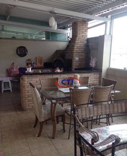 Cobertura Residencial À Venda, Taboão, São Bernardo Do Campo - Co0051. - Co0051