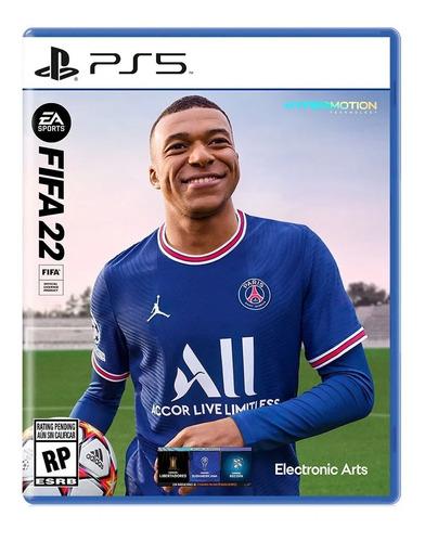 Imagen 1 de 5 de Juego Fisico Ps5 Fifa 22 Original Sellado Playstation 5