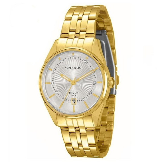 Relógio Seculus Feminino Long Life - 28432lpsvda2