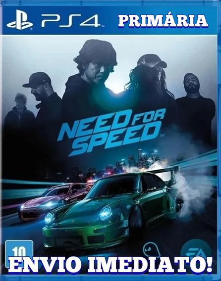 Need For Speed Ps4 1° Digital Psn Envio Imediato!