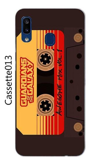 Funda Samsung Galaxy A20 Cassette Music + Mica