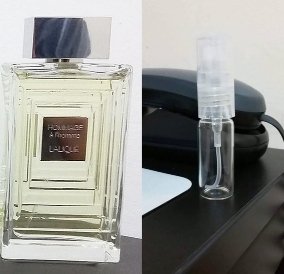Amostra Decant Perfume Lalique Hommage - 5ml