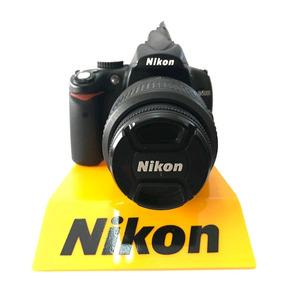 Câmera Nikon D5000 Kit 18-55mm 9.070 Cliques