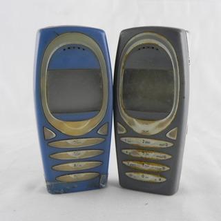 Lote 2 Celulares Nokia 2280 Retirada De Peças Tijolão