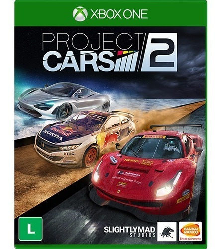 Project Cars 2 - Mídia - Física - Novo - Xbox One