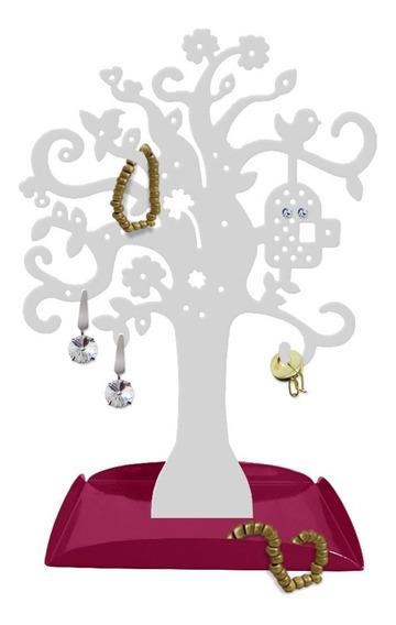 Porta-joias Árvore Organizador Brincos Bijuterias Pulseiras
