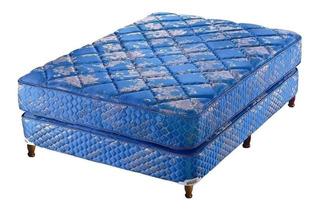 Sommier Piero Continental 1 plaza 190x100cm azul