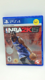 Nba 2k15 Para Ps4 Playstation 4 Cd Juegos Originales