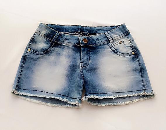 Shorts Jeans Feminino Curto Cintura Baixa