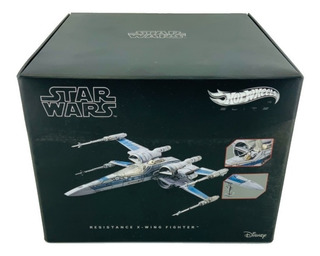 Star Wars Hot Wheels Resistance X Wing Fighter Metal Mattel