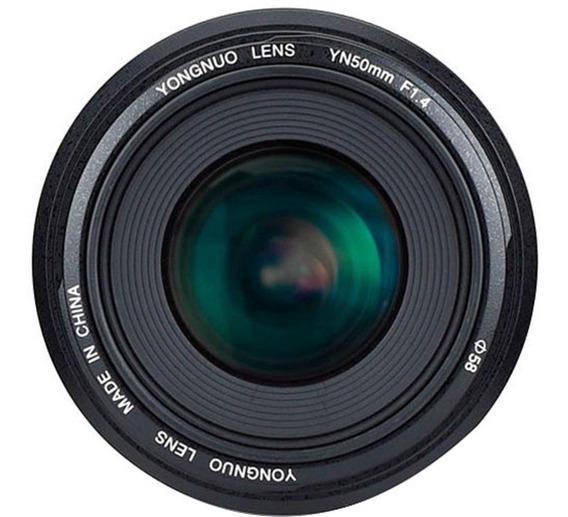 Lente Yongnuo 50mm F/1.4 - Canon