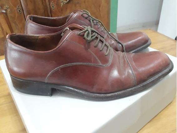 Zapatos De Cuero Nº 41 Zara Man