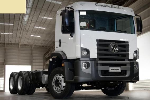 Volks 24.280 - 2013 - 6x2 - Chassi - Cabininha