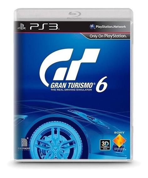 Gran Turismo 6 - Novo Original Playstation Ps3