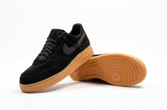 Nike Air Force 1 07 Lv8 Suede Black