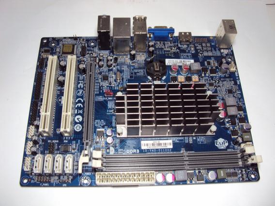 Placa Mae Ecs Amd C-50 Mod. 15-y40-011002 Ddr3 C/defeito