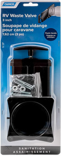 Válvula Camc De Residuos Cuerpo Con Asa 3 PuLG