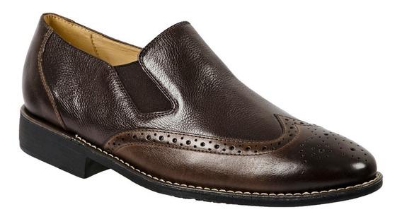 Sapato Social Masculino Exportação Em Couro Herícles Oferta