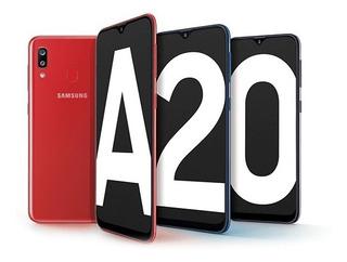 Samsung Galaxy A20 32 Gb Negro 3 Gb Ram Libre
