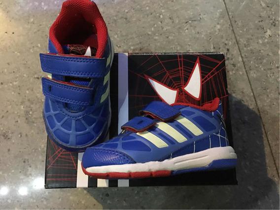 Zapatillas adidas Spiderman Talle 19