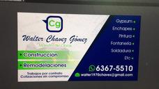 Walter Remodelaciones Y Contratación Tel 636755l0