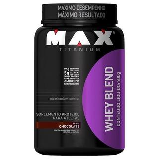 Whey Protein Whey Blend 900g Max Titanium