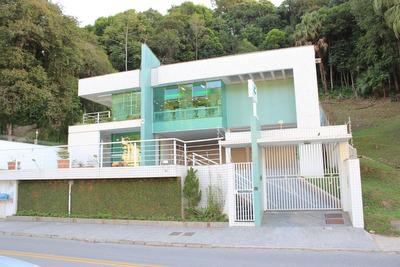 Casa Para Clinica Odontologica Mobiliada E Equipada, 465 M² Por R$ 14.000/mês - Garcia - Blumenau/sc - Ca0972