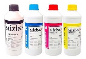 Tinta Pigmentada Epson L220 L375 Mizink 1lit + 3x500ml Cmyk