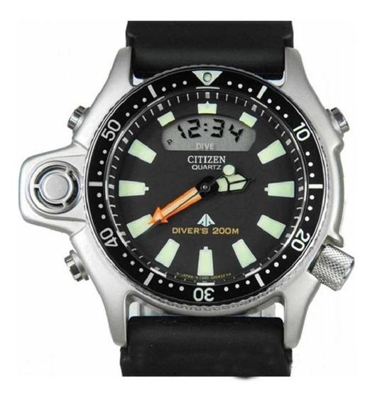 Relógio Citizen Aqualand Tz10137t C/ Nf-e