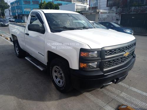 Imagen 1 de 13 de Chevrolet Silverado 2014 Ls V6 Cab Reg Std Eng $ 51,6000