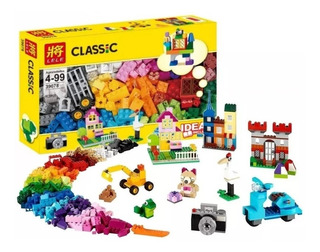 Lele Classic Caja Ladrillo De 550 Fichas C/ Lego Bloques Ajd