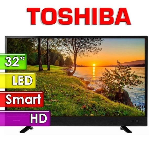 Smart Tv Led De 32 Toshiba 32l4700la Hd Com Wi-fi/hdmi