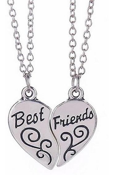 Colar Best Friends Ou Partners In Crime Frete Grátis