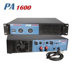 Amplificador Potência New Vox Pa 1600 - 800w Rms