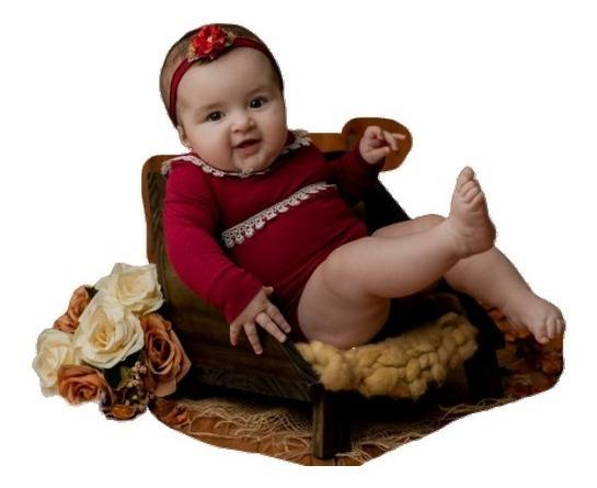 Poltrona Posicionadora Cadeirinha Sofá Prop Newborn Bebê