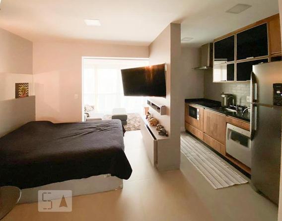 Apartamento Para Aluguel - Moema, 1 Quarto, 37 - 893074304