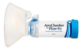 Glaxo Aerochamber Aerocamara Flow-vu Azul + 5años