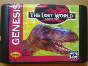 Jogo Fita The Lost World Jurrasic Park Para Mega Drive