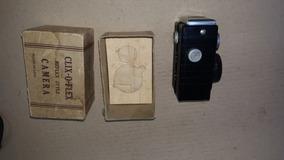 Camera Antiga Clix O Flex Na Caixa Original (only Wood)