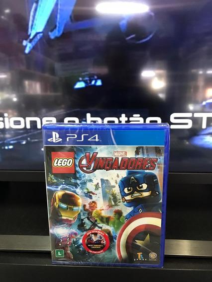 Lego Marvel Vingadores Ps4 Mid.física 100% Português Lacrado