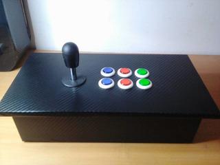 Tablero Arcade + Usb Con 8 Mil Juegos Para Pc Y Lap