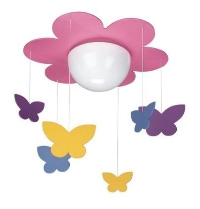 Luminaria Philipis Flor/borboleta Semi Nova