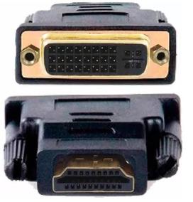 (frete Barato) Adaptador Conector Hdmi X Dvi-d 24+1 Banhados