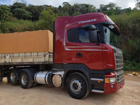 Scania R440 A 6x2 Highline 2014 C/ Retarder = 460 Volvo Mb