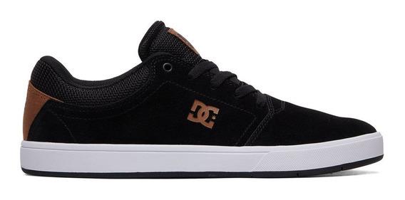 Tenis Hombre Urbano Crisis Mx Negro/blanco Dc Shoes