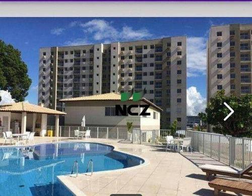 Imagem 1 de 16 de Apartamento Com 3 Dormitórios À Venda, 72 M² Por R$ 350.000,00 - Itapuã - Salvador/ba - Ap3001