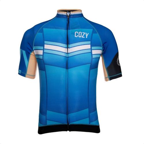 Imagen 1 de 4 de Remera Cozy Sport Premium Argentina Uv50 Hombre Ciclismo